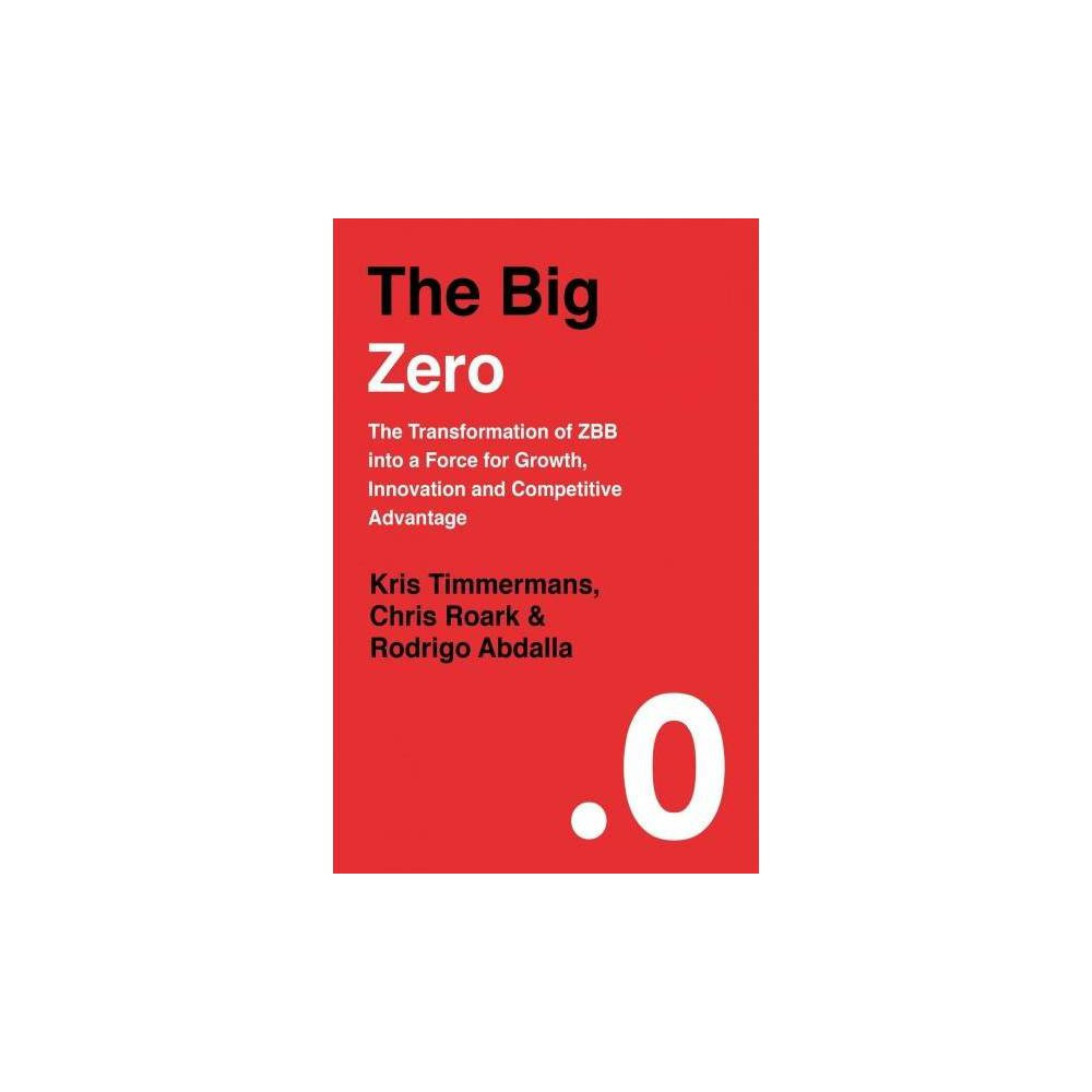 The Big Zero - by Kris Timmermans (Hardcover)