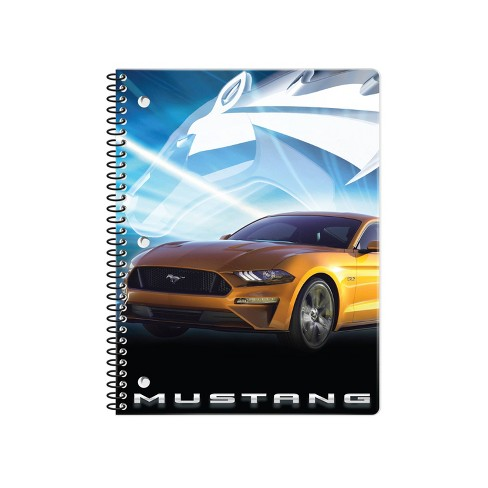 Mustang 1 Subject Wide Ruled Spiral Notebook - Innovative Designs - image 1 of 2