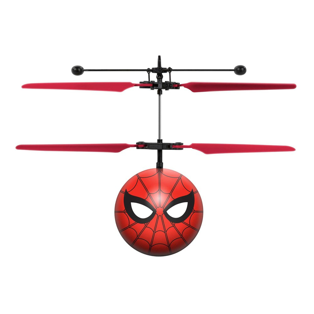 World Tech Toys Marvel Spider Man Ir Ufo Ball Helicopter