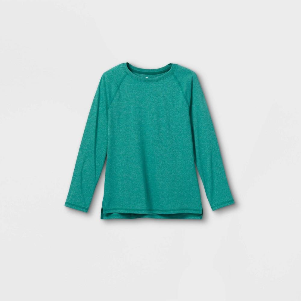 Boys 39 Long Sleeve Tech T Shirt All In Motion 8482 Green S