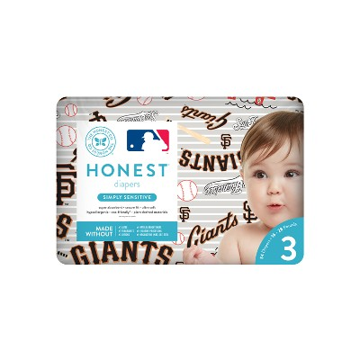 Honest Company Diapers, San Francisco Giants - Size 3 (34ct)