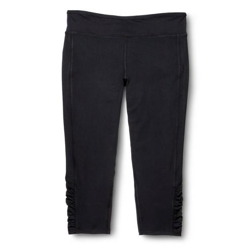 Women's C9 Champion Plus Size Capri Leggings Black 3X - image 1 of 3
