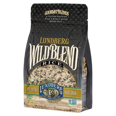 Lundberg Wild Blend Whole Grain, Brown and Wild Rice - 16oz