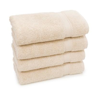 4pk Sinemis Turkish Hand Towel Beige - Linum Home Textiles