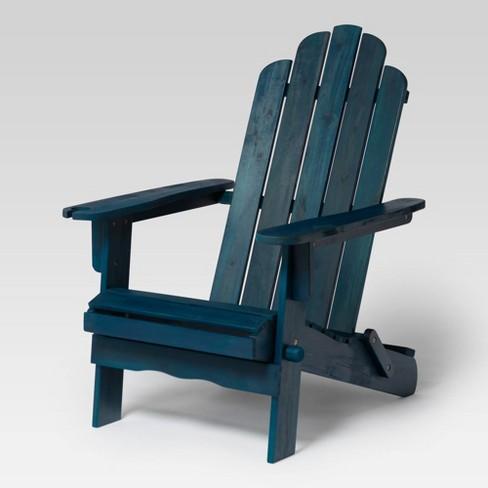 Patio Wood Adirondack Chair - Saracina Home - image 1 of 4