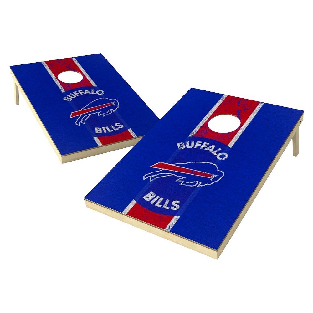 Buffalo Bills Wild Sports Heritage Shield Cornhole Bag Toss Set - 2x3 ft.