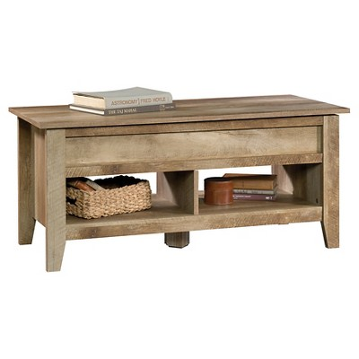 Dakota Pass Lift - Top Coffee Table - Craftsman Oak - Sauder