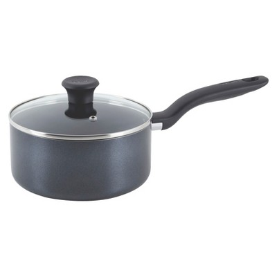 T-fal 3qt Saucepan with Lid Charcoal