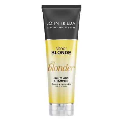 Shampoo & Conditioner: John Frieda Sheer Blonde