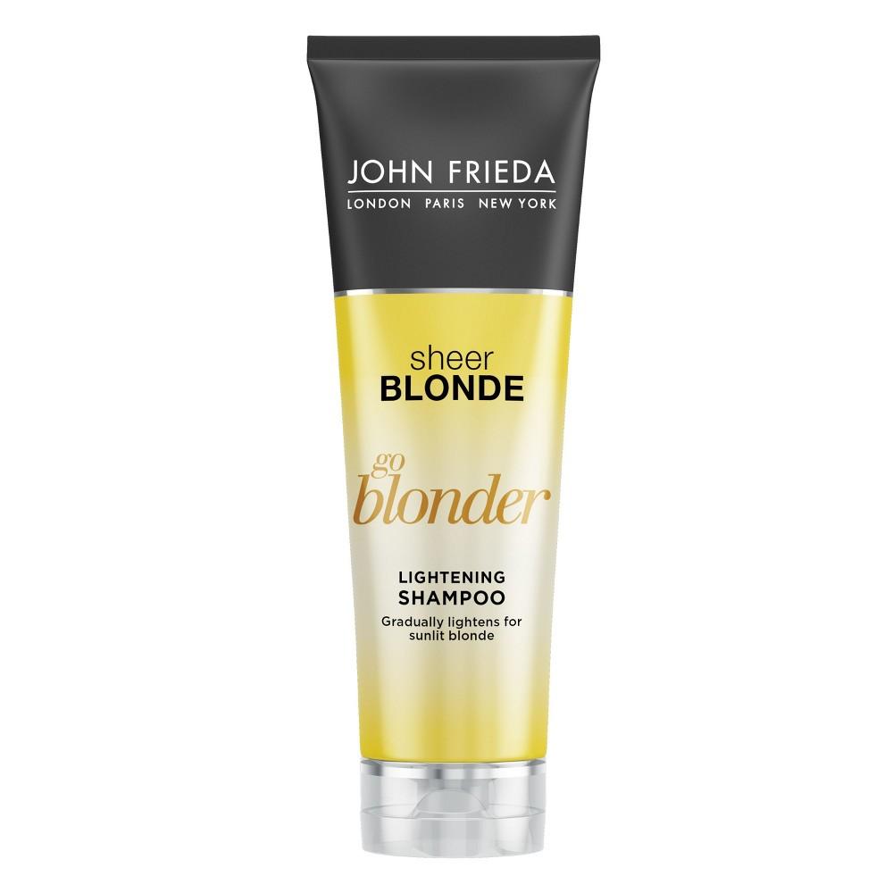 Image of John Frieda Sheer Blonde Go Blonder Lightening Shampoo - 8.3 oz