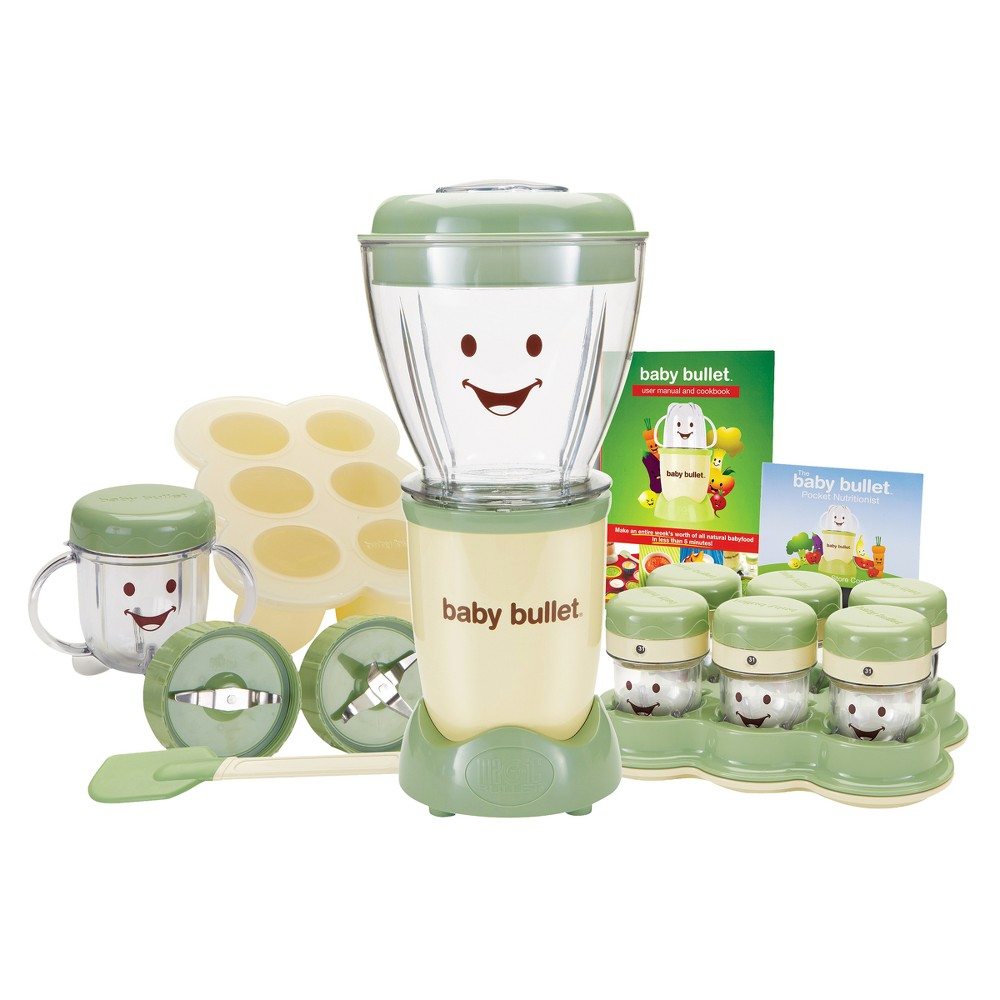 Image of Baby Bullet Complete Baby Food Prep System, Beige