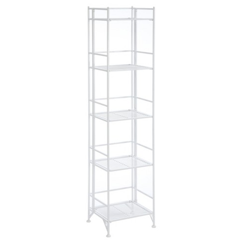 "Decorative Bookshelf 57.75""  White - Convenience Concepts® - image 1 of 4"