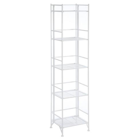 """57.75"""" Decorative Bookshelf White - Johar Furniture - image 1 of 4"""