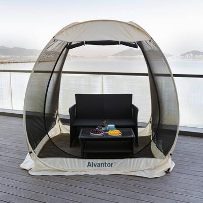 6'X6' Outdoor Instant Pop-Up Screened Tent - Alvantor
