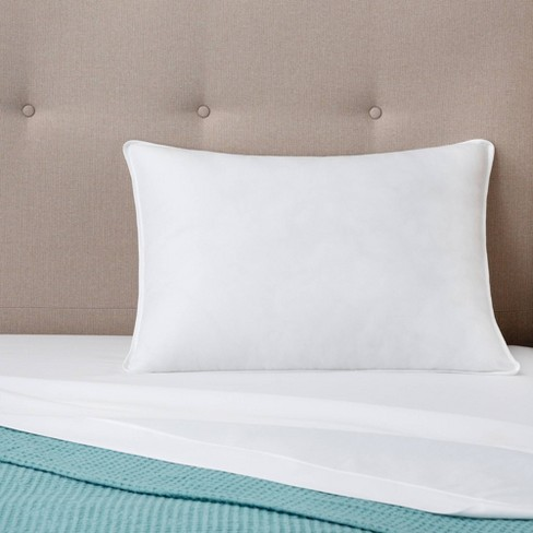 Essentials Firm Bed Pillow - Linenspa - image 1 of 4