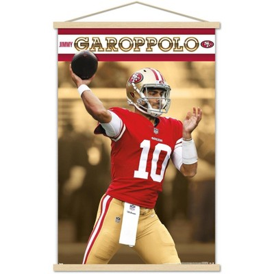Trends International NFL San Francisco 49ers - Jimmy Garoppolo 18 Framed Wall Poster Prints
