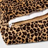 """60"""" x 80"""" Faux Fur Weighted Blanket with Removable Cover - Threshold™ - image 2 of 2"""
