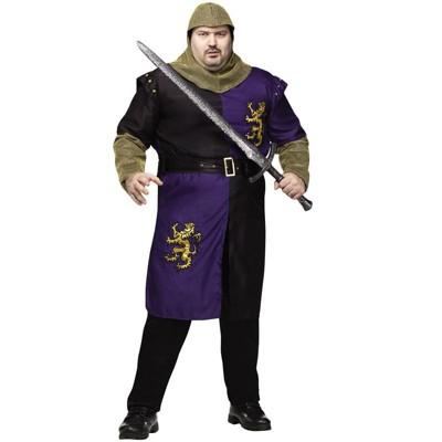 Fun World Fierce Renaissance Knight Plus Size Costume