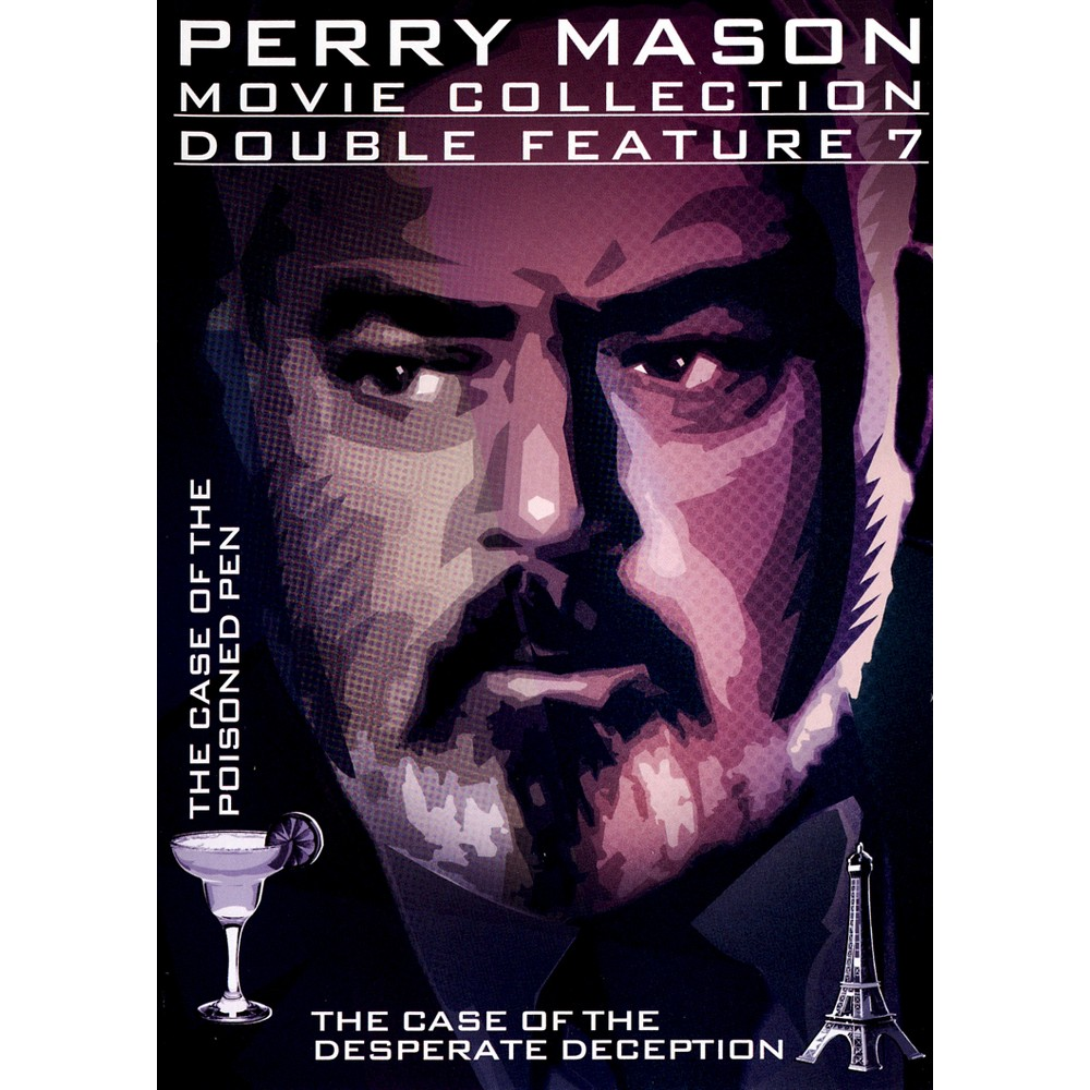 Perry Mason:Case Of The Poisoned Pen/ (Dvd)