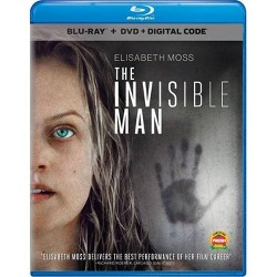 The Invisible Man (Blu-Ray + DVD + Digital)