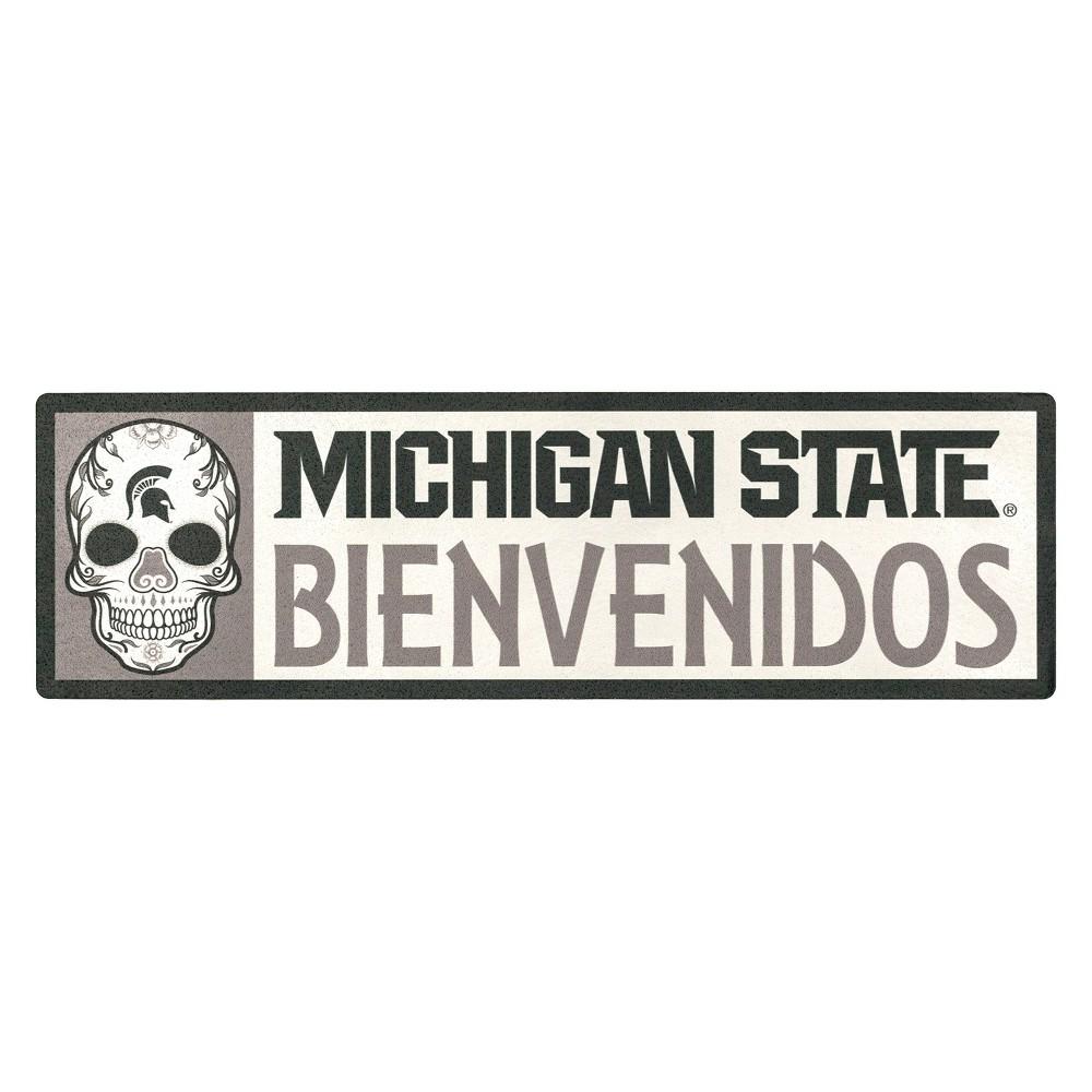 NCAA Michigan State Spartans Outdoor Bienvenidos Step Decal