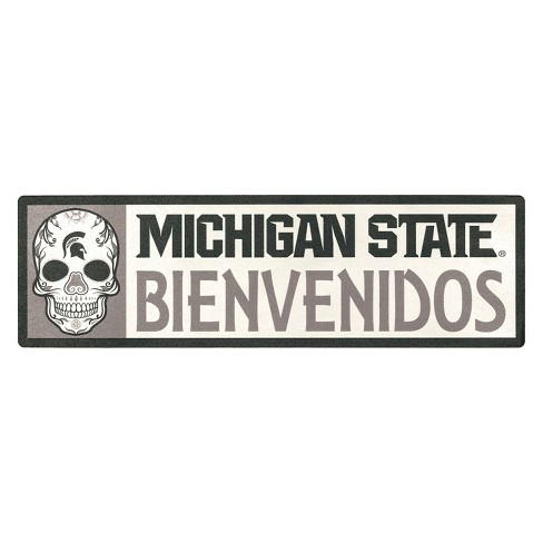 NCAA Michigan State Spartans Outdoor Bienvenidos Step Decal - image 1 of 2