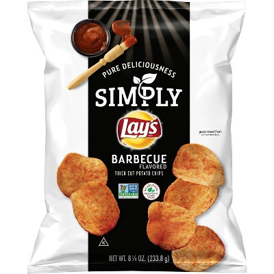 Lay's Simply Salt Potato Chips - 8.25oz