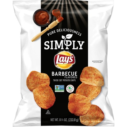 Lay's Simply Salt Potato Chips - 8.25oz - image 1 of 3