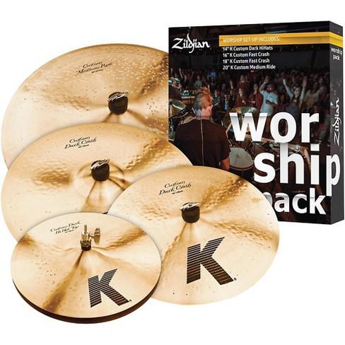 Zildjian K Custom Series Cymbal Set Worship - image 1 of 1