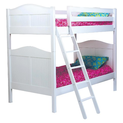 Cottage Bunk Bed White (Twin) - Bolton Furniture - image 1 of 1