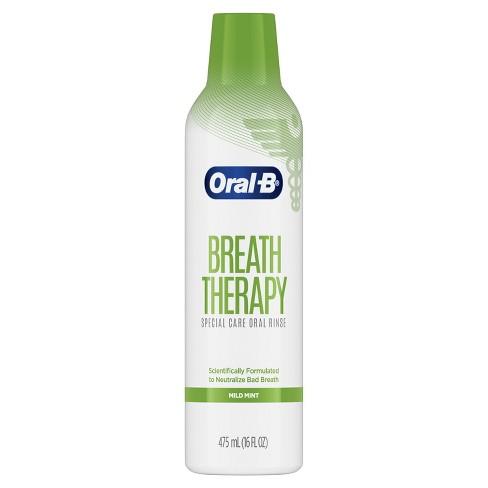 Oral-B Breath Therapy Special Care Oral Rinse  - 16 fl oz - image 1 of 4