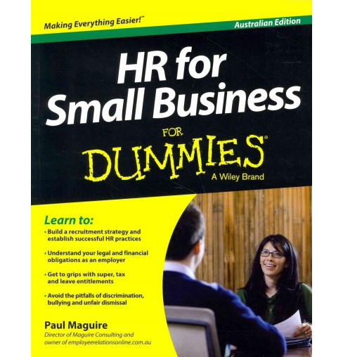 HR for Small Business for Dummies : Australian Edition (Paperback) (Paul Maguire) - image 1 of 1