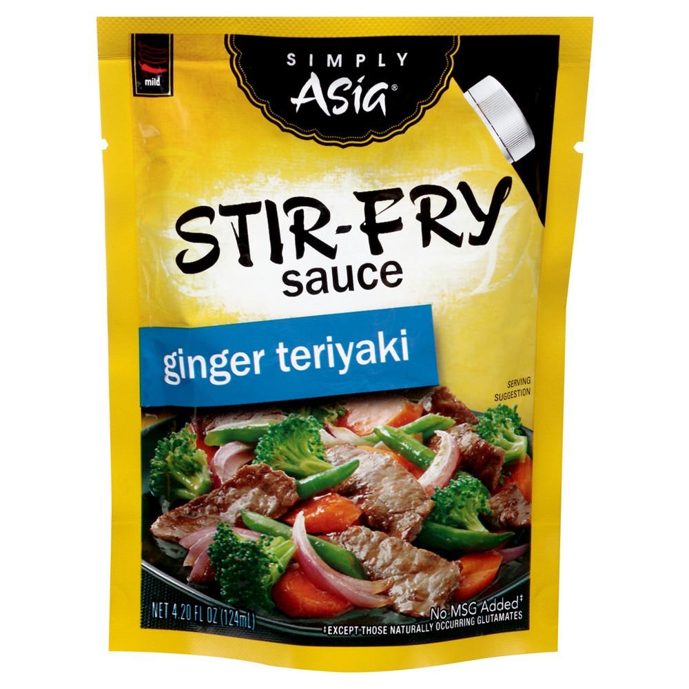 Simply Asia Ginger Teriyaki Stir-Fry Sauce - 4.2 Oz