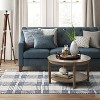 5'X7' Plaid Woven Area Rug Blue - Threshold™ - image 3 of 3