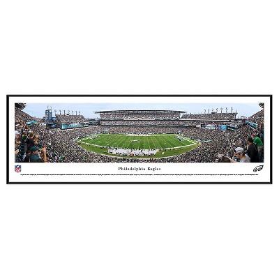 NFL Blakeway Stadium View Standard Framed Wall Art - Philadelphia Eagles