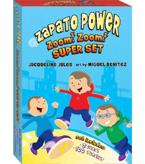Zapato Power Set (Paperback) (Jacqueline Jules) - image 1 of 1