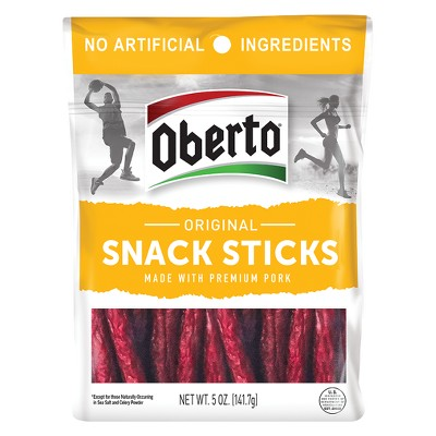 Jerky & Dried Meats: Oberto Snack Sticks