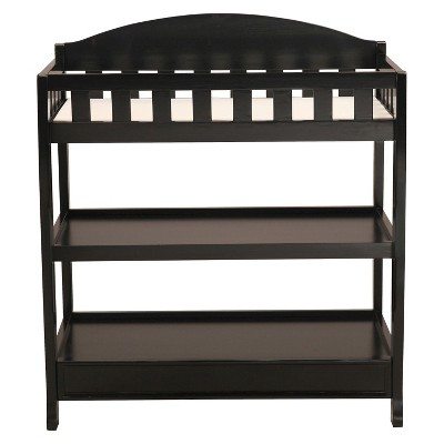 Delta Children Infant Changing Table with Pad - Black