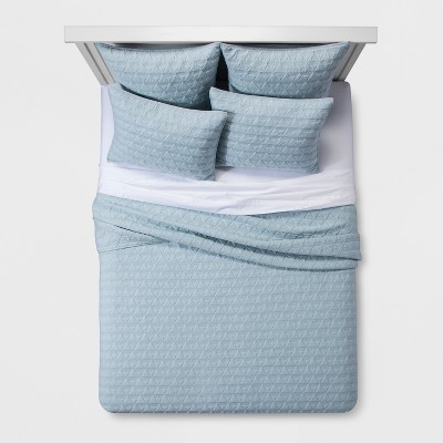 Triangle Stitched Jersey Bedding Collection - Project 62™ + Nate Berkus™
