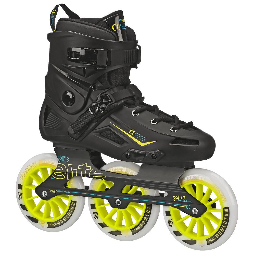 Roller Derby Elite Alpha 125mm 3 Wheel Inline Skate Size 11, Black