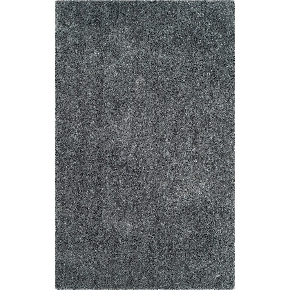 3X5 Solid Tufted Accent Rug Dark Gray - Safavieh Reviews