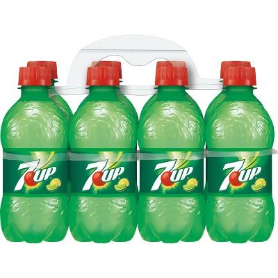 7UP Soda - 8pk/12 fl oz Bottles