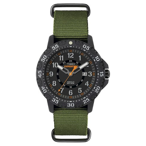 1a4da657c Men's Timex Expedition® Watch With NATO Nylon Strap - Green TW4B03600JT :  Target
