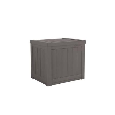 Suncast 22gal Storage Seat Stoney Gray