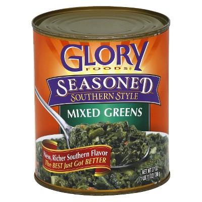 Glory Gluten Free Foods Seasoned Southern Style Mixed Greens 27oz