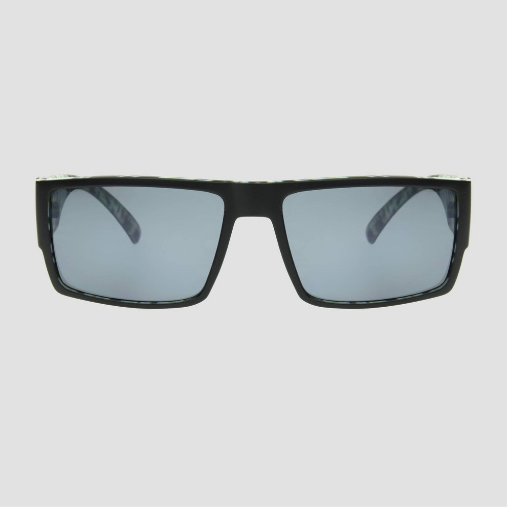 Men 39 S Tie Dye Rectangle Sunglasses Original Use 8482 Blue