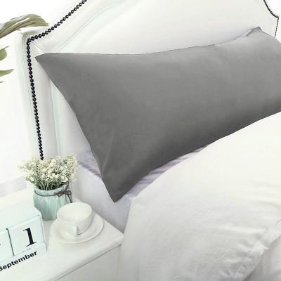 1 Pc Body 1800 Series Soft Brushed Microfiber Pillowcase Grey - PiccoCasa