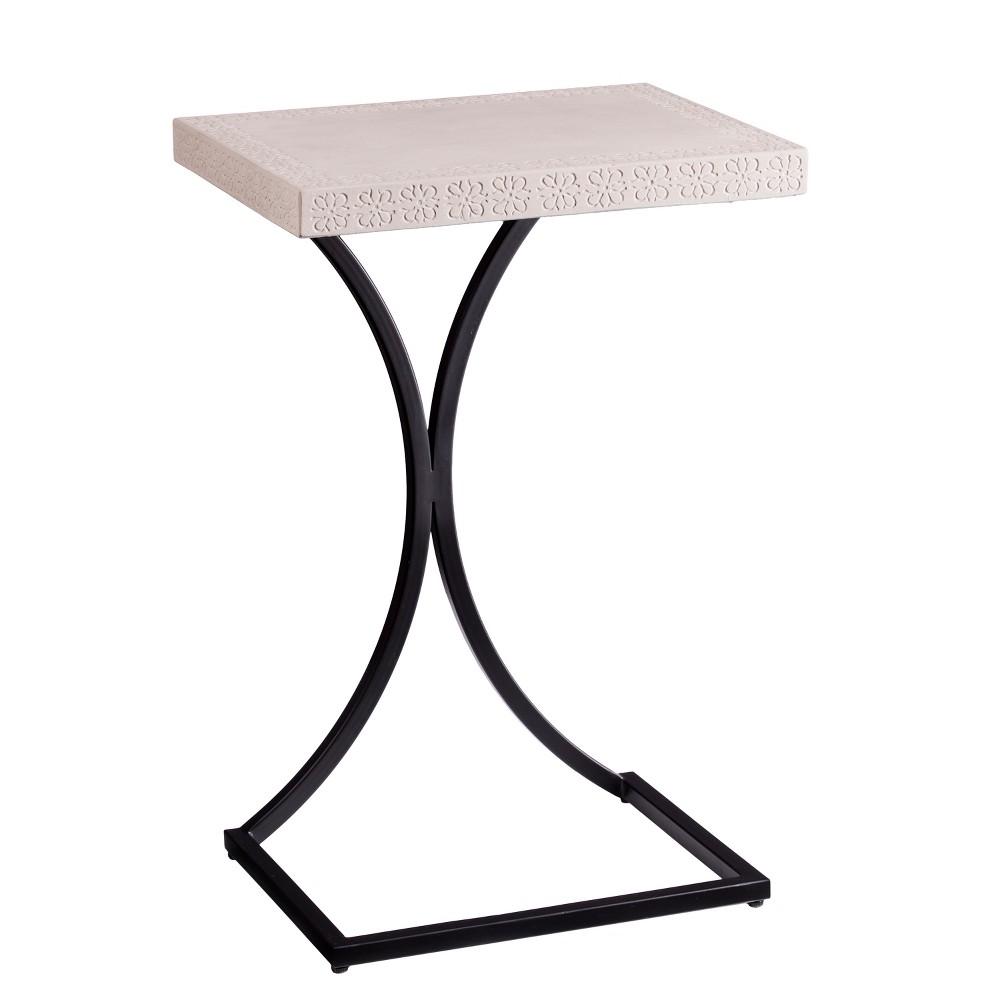 Ayren Indoor/Outdoor C Table Cement Gray - Aiden Lane