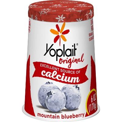 Yoplait Original Mountain Blueberry Yogurt - 6oz