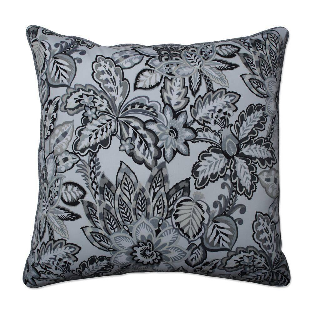 25 34 Outdoor Indoor Floor Pillow Copeland Noir Black Pillow Perfect
